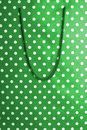 Polka dot shopping bag texture