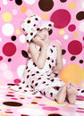 Polka dots heaven Royalty Free Stock Photo