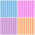 Polka Dots - Seamless Pattern Royalty Free Stock Photos