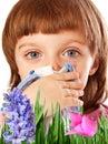 Polen fiebre alergia