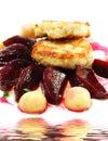 Pollo Confit Fotografia Stock