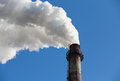 Pollution,Chimney Smoke Royalty Free Stock Images