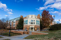 Polo Residence Hall at WFU Royalty Free Stock Photo