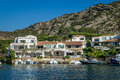 Poltu Quatu luxury resort villge pier, Sardinia Royalty Free Stock Photo