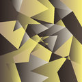 Polygon background. Abstract texture vector