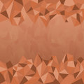Polygon Earth Tone Background