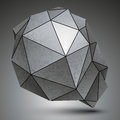 Polygonal Galvanize 3d Abstrac...