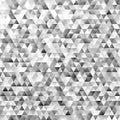 Polygonal mosaic triangular polygon pattern background