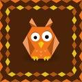 Polygonal origami owl
