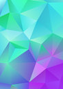 Polygonal triangle shapes vector abstract background template