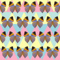 Polygonaler schmetterlingsmusterhintergrund Lizenzfreie Stockbilder