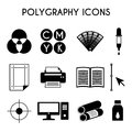Polygraphy icons