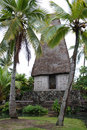 Polyneisan Hut Royalty Free Stock Photography