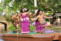 Polynesian Cultural Center Royalty Free Stock Photography