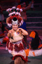 Polynesian dancer Royalty Free Stock Photography