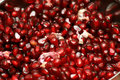 Pomegranate arils Royalty Free Stock Image
