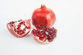 Pomegranate, pomegranate seeds Royalty Free Stock Photo