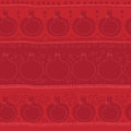 Pomegranate seamles pattern. Red color. Abstract contour, lines, circles and dots. Fruits background