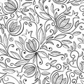 Pomegranate seamless pattern Royalty Free Stock Photo