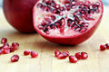 Pomegranate Seeds Royalty Free Stock Photo