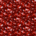 Pomegranate Seeds Seamless Background Stock Photography