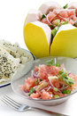 Pomelo salad Royalty Free Stock Photos