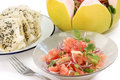 Pomelo salad Royalty Free Stock Image