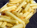 Pommes frites Stock Photography
