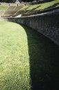 Pompei amphitheater view naplesi italy Stock Image