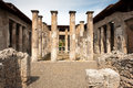 Pompei ancient rome in we get an insight into years ago Royalty Free Stock Images