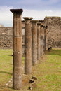 Pompei ancient rome in we get an insight into years ago Stock Photography