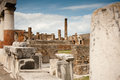 Pompei ancient rome in we get an insight into years ago Royalty Free Stock Photos