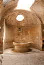 Pompei ancient rome in we get an insight into years ago bath house Royalty Free Stock Photography