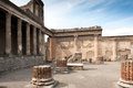 Pompei ancient rome in we get an insight into years ago temple of venus Stock Photo