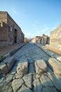 Pompei ruins. Stock Photos