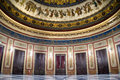Pompeian Hall view, Massimo Theater opera in Palermo, Italy. Royalty Free Stock Photo
