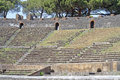 Pompeii amphitheater Royalty Free Stock Photo
