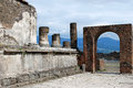 Pompeii Arch Royalty Free Stock Photo
