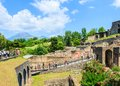 Pompeii italy ruins site of city that destroyed in bc by the eruption of mount vesuvius naples Stock Photo
