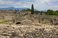 Pompeii, ruins Stock Photography