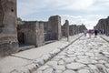 Pompeii. Street Royalty Free Stock Image