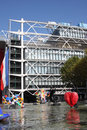 Pompidou centre Royalty Free Stock Photos