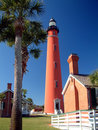 Ponce Inlet Lighthouse Royalty Free Stock Photos