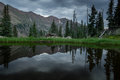 Pond in Eagles Nest Wilderness Royalty Free Stock Photo