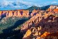 Ponderosa Bryce Canyon Hoodoos at Sunset Royalty Free Stock Photo