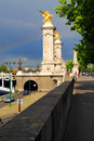 Pont Alexander III Royalty Free Stock Images