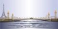 Pont Alexander III , Paris Royalty Free Stock Photo