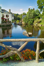 Pont aven in brittany Royalty Free Stock Photography