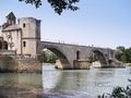 Pont d'Avignon Stock Photography
