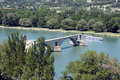 Pont d'Avignon bridge Royalty Free Stock Photo
